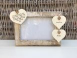 Shabby personalised Chic Photo Frame Special Best Friend Friendship Any Name
